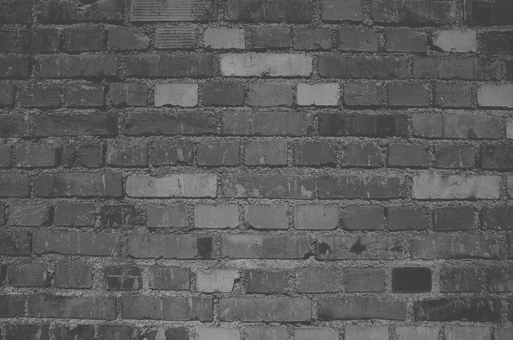 BrickBackgroundDarkGreyscale