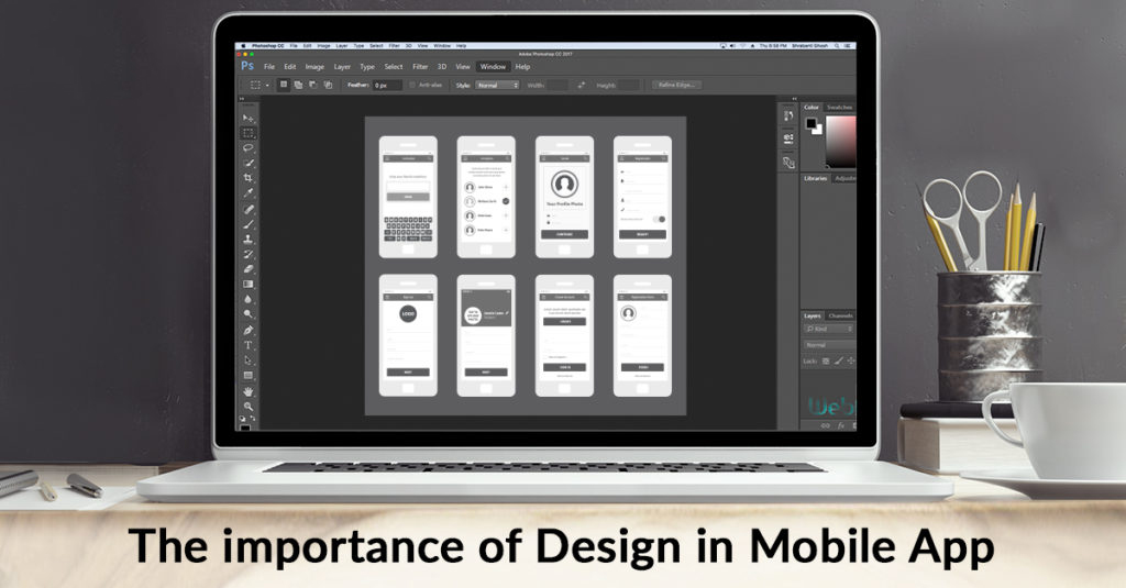 Why do you think that design is important in mobile application