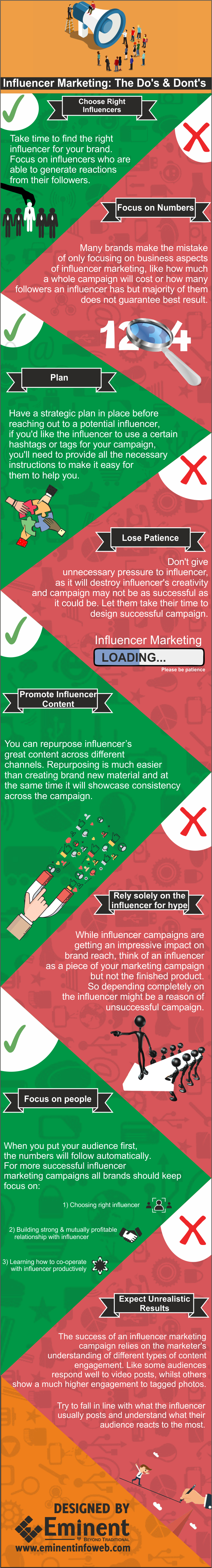 do and donts of influencer marketing